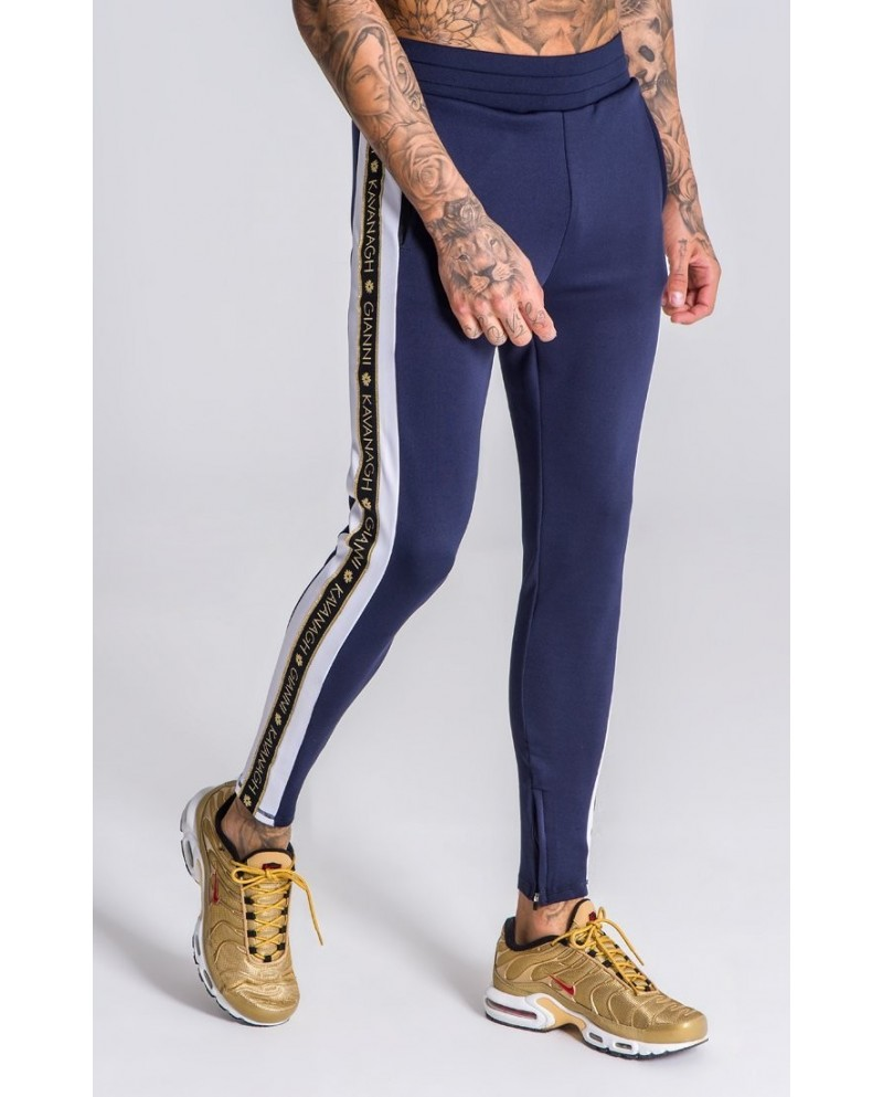 Gianni Kavanagh Joggers With Gold Lurex Ribbon