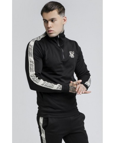 Sik Silk Quarter Zip Runner Top