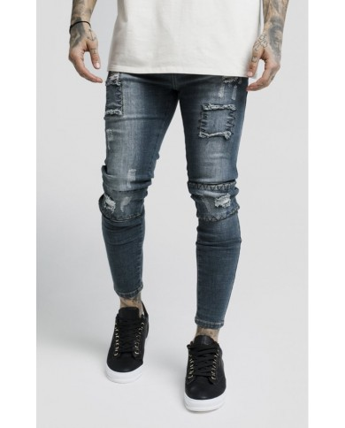 Sik Silk Salvaged Washed Denims
