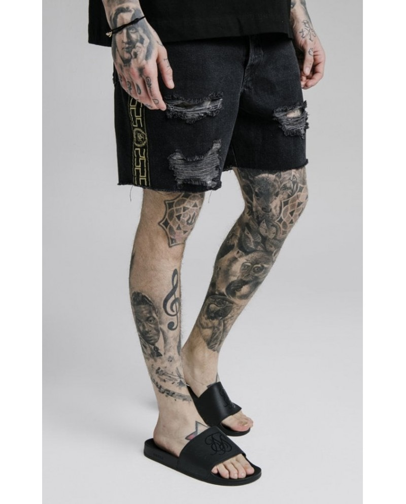 Sik Silk Cartel Shorts Black