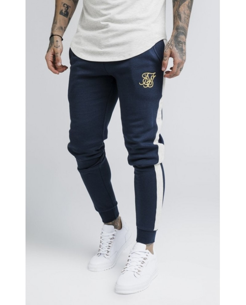 Sik Silk Taped Fitted Joggers