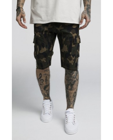 Sik Silk Taped Cargo Shorts