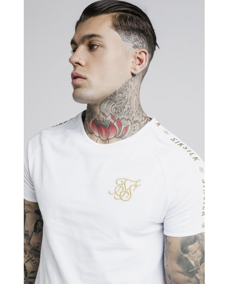Sik Silk Panel Gym Tee