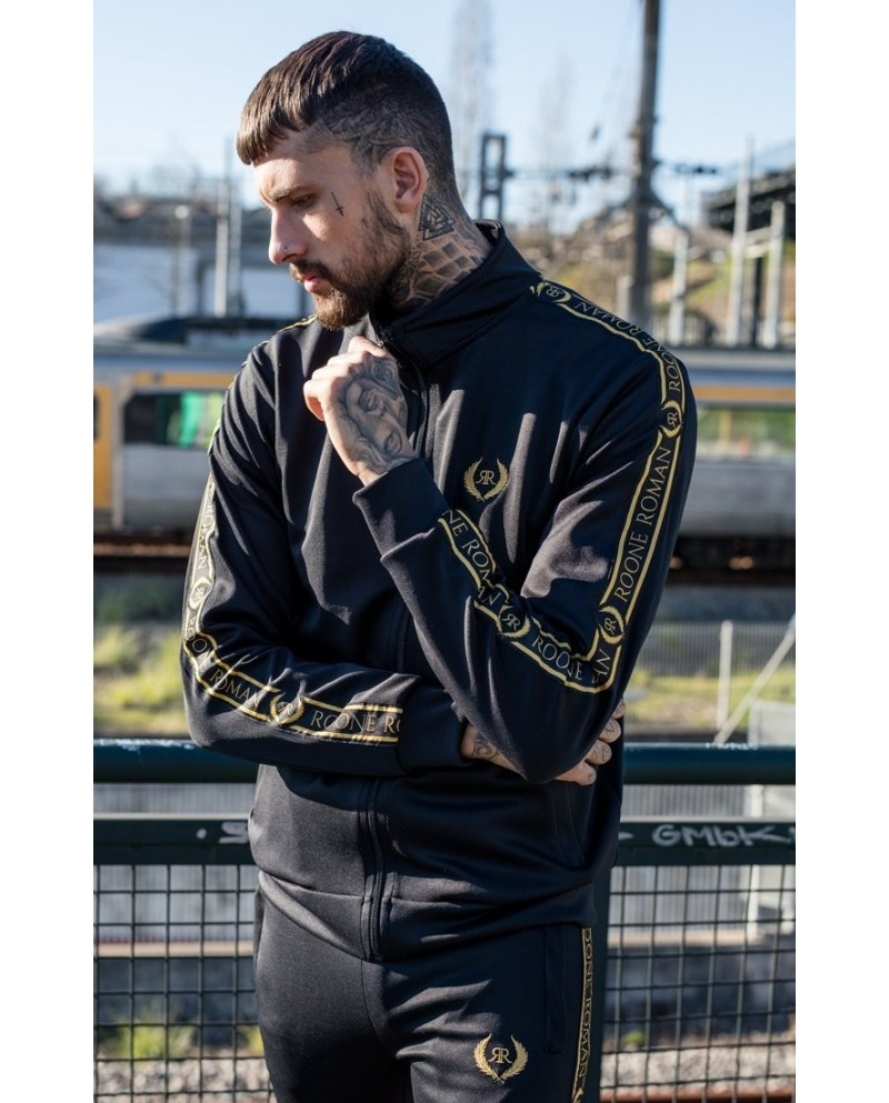 Roone Roman Tracksuit Jacket With RR Ribbon