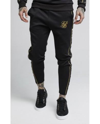 Sik Silk Taped Pants Black & Gold