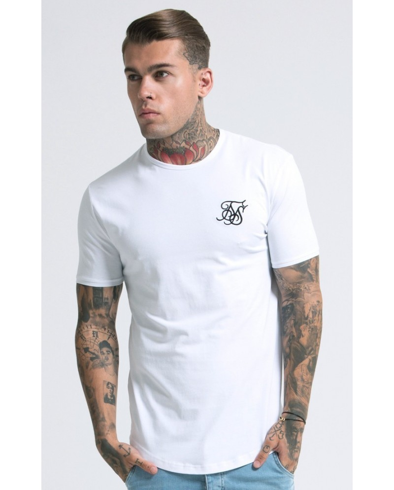 Sik Silk Tee White