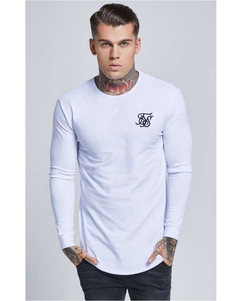 Sik Silk Long Sleeve Gym Tee