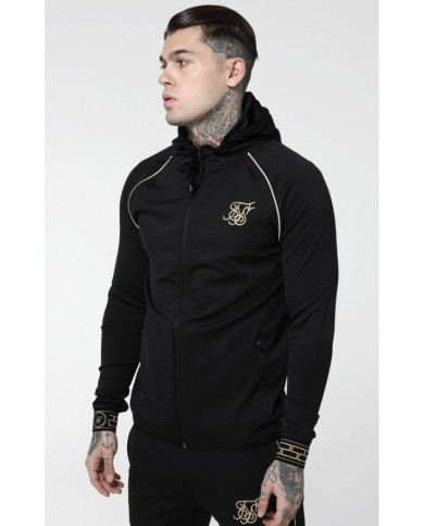 Sik Silk Scope Cartel Zip Through Hoodie