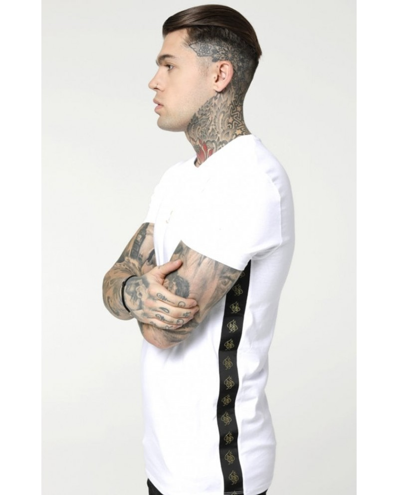 Sik Silk Side Tape Tee