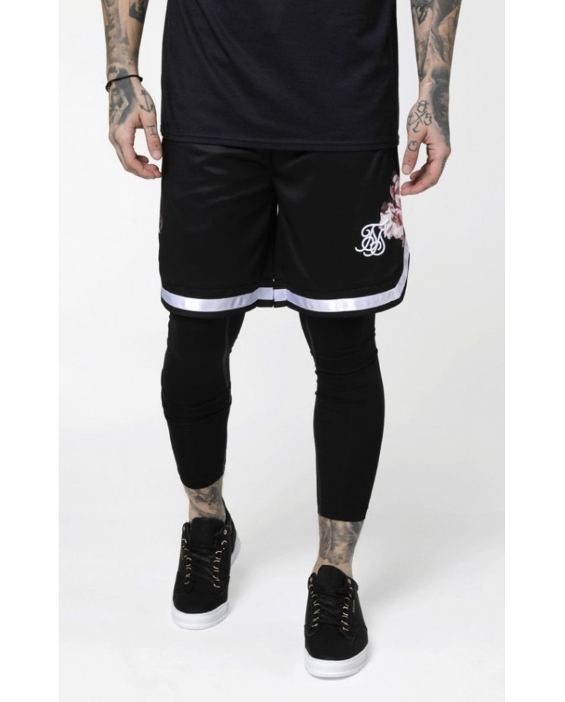 Sik Silk Oil Paint Basketball Shorts