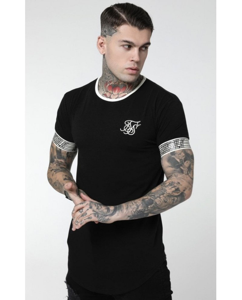 Sik Silk Runner Cuff Gym Tee