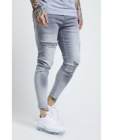 Sik Silk Distressed Skinny Jeans
