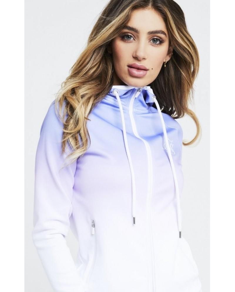 Sik Silk Athlete Zip Through Hoodie