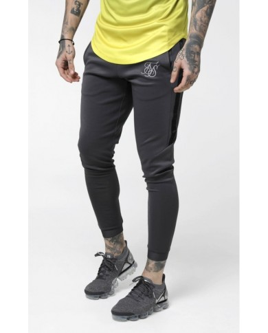 Sik Silk Fade Out Cuffed Panel Pants