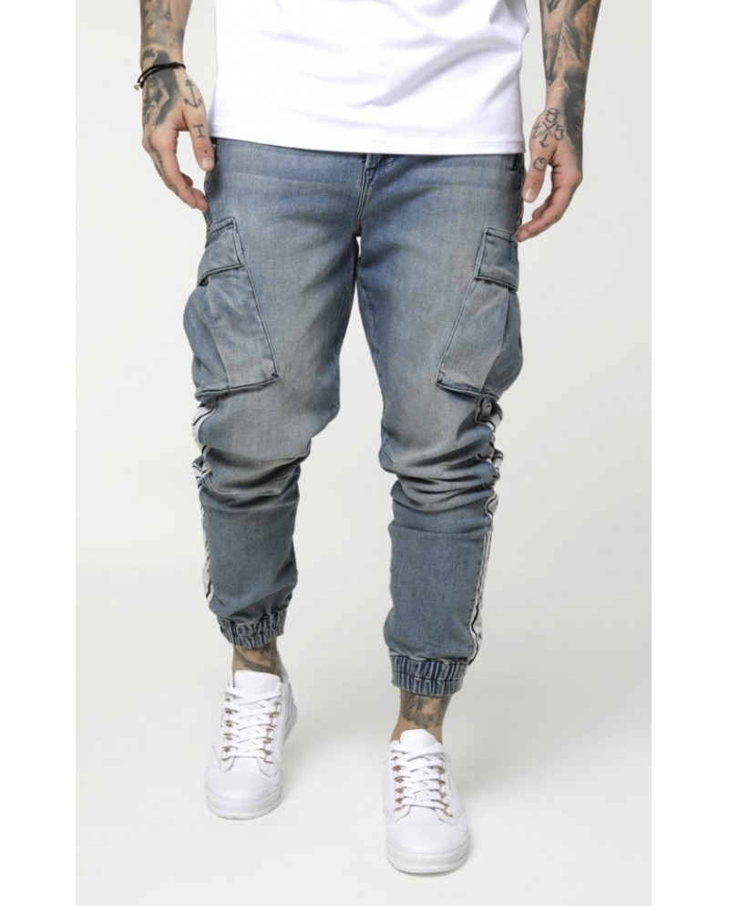 Sik Silk Cargo Pants