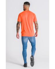 Gianni Kavanagh Neon Orange Hybrid Logo Tee