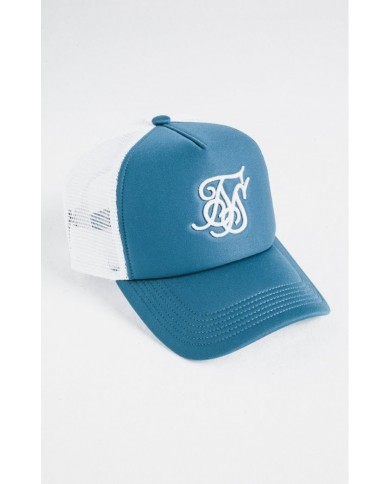 Sik Silk Foam Bent Peak Trucker Cap