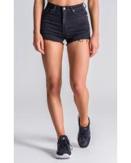 Gianni Kavanagh Black Peekaboo Shorts