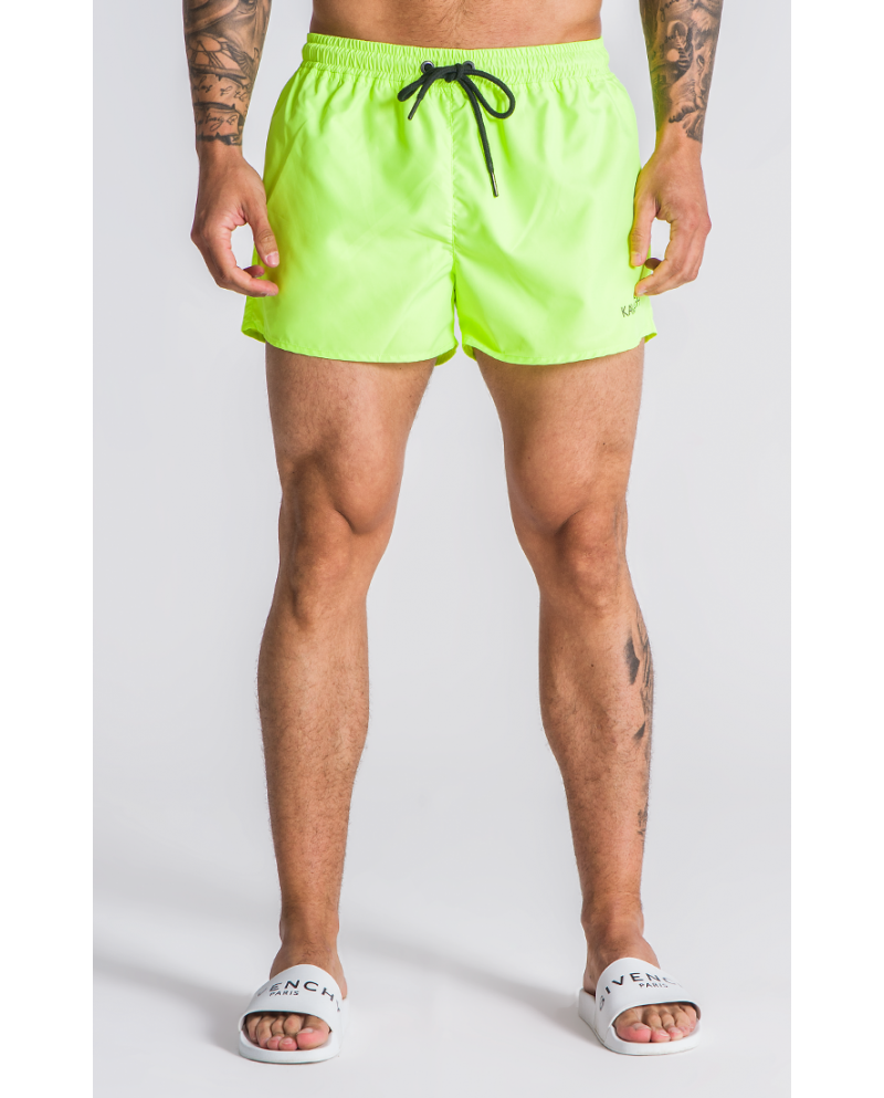 Gianni Kavanagh Neon Yellow Swim Shorts