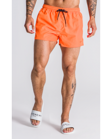 Gianni Kavanagh Neon Orange Swim Shorts