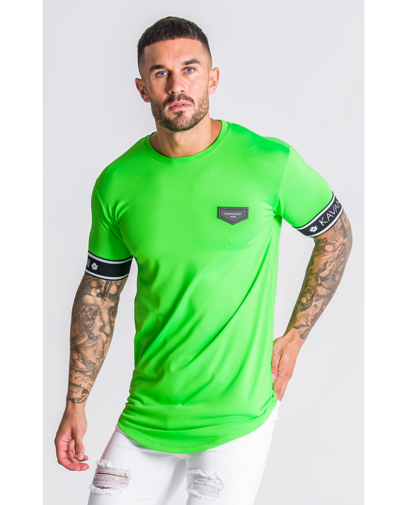 Gianni Kavanagh Neon Green T-Shirt With GK Elastic