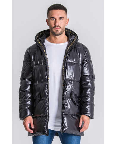 Gianni Kavanagh Black Gk Glaciar Down Coat