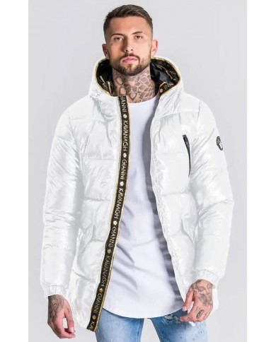 Gianni Kavanagh White Gk Glaciar Down Coat