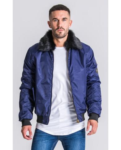 Gianni Kavanagh Navy Blue Vintage Coat