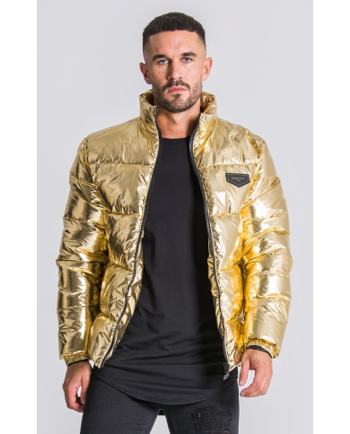 Gianni Kavanagh Gold Gk Puff Coat