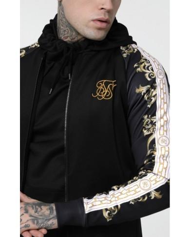 Sik Silk Polytricot Bomber Jacket