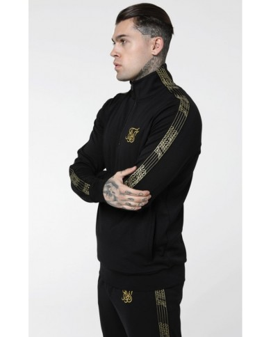 Sik Silk Gold Edit 1/4 Zip Overhead Runner