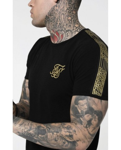 Sik Silk Gold Edit Runner Gym Tee