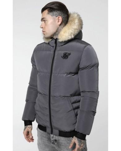 Sik Silk Distance Jacket Grey