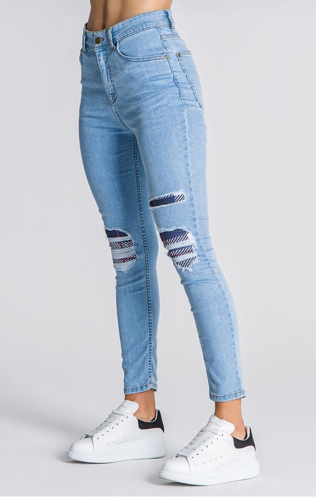 Gianni Kavanagh Light Blue Royalty Skinny Jeans