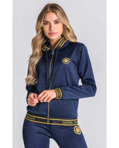 Gianni Kavanagh Navy Hoodie Jacket