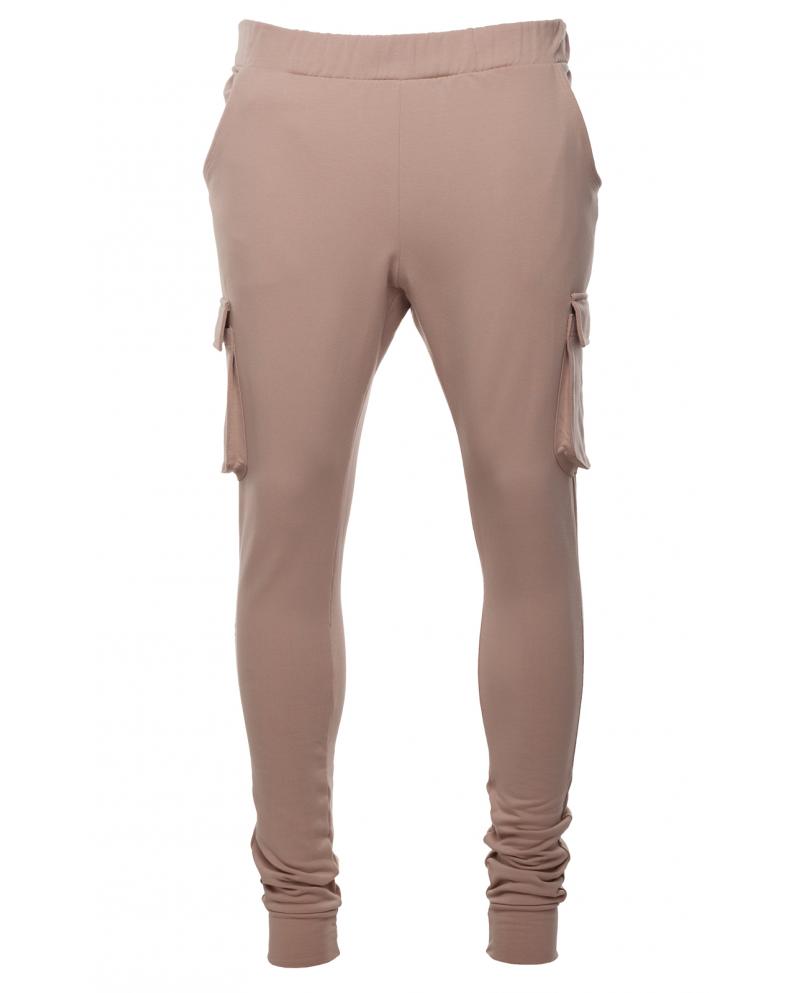 Chichi Maison Camel Cargo Pants