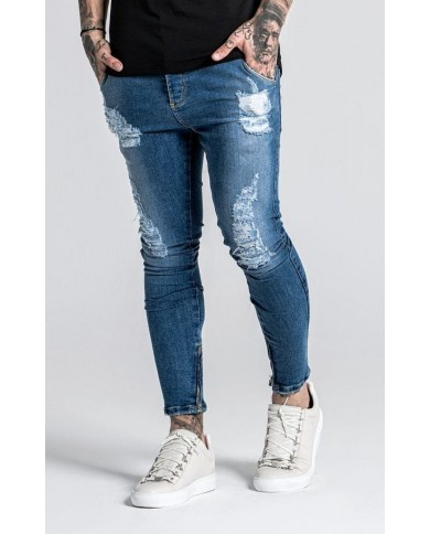 Gianni Kavanagh Worn Out Blue Jeans