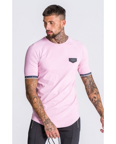 Gianni Kavanagh Light Pink Tee With GK Elastic