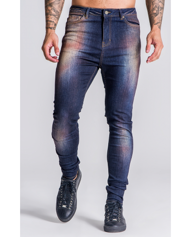 Gianni Kavanagh Medium Blue Party Season Jeans