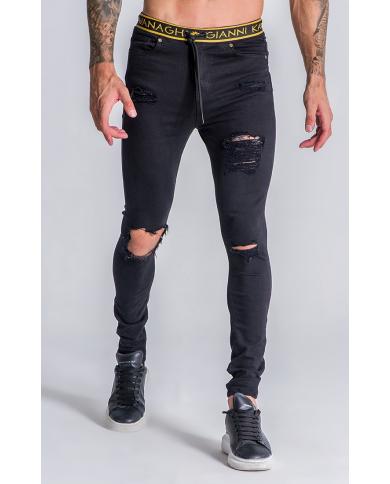Gianni Kavanagh Black Million Dollar Jeans