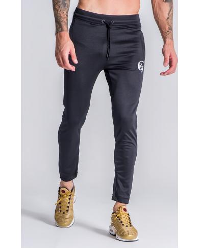 Gianni Kavanagh Black Scuba Joggers With GK Embroidery