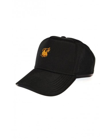 Sik Silk Nylon Trucker  Black