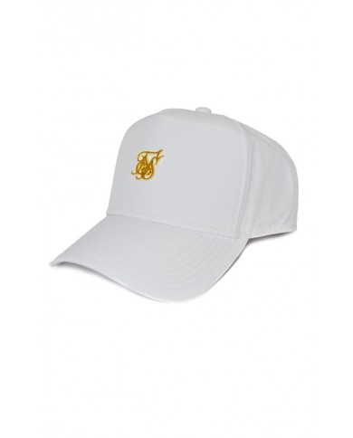 Sik Silk Nylon Trucker White