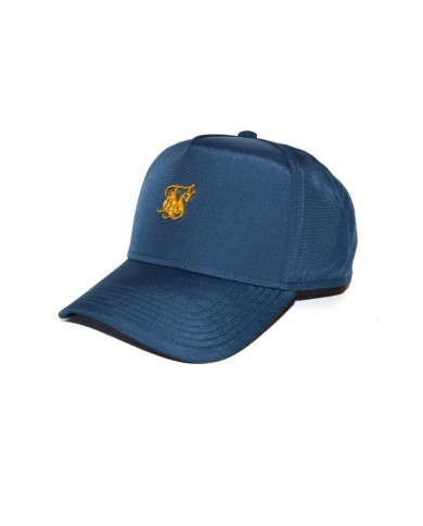 Sik Silk Nylon Trucker Blue