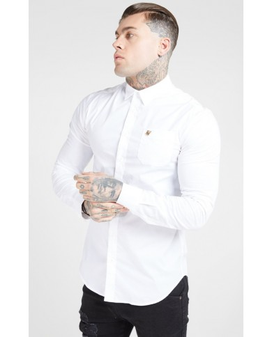 Sik Silk Smart Shirt White