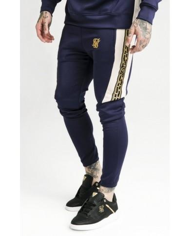 Sik Silk Hybrid Panel Taped Pants Navy