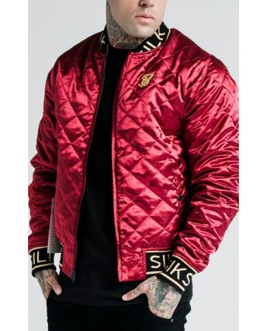 Sik Silk x Dani Alves Reversible Bomber Jacket