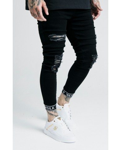 Sik Silk x Dani Alves Skinny Tech Cuff Denim