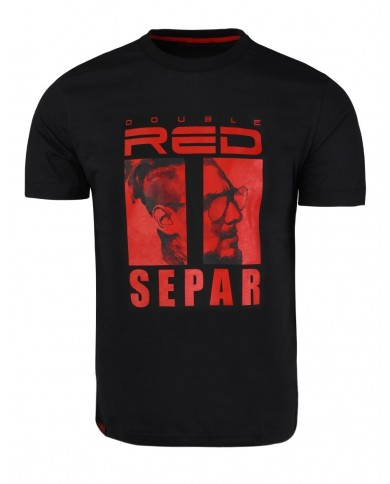 Double Red Limited Edition SEPAR T-Shirt Black