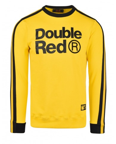 Double Red Sweatshirt KUNG FU Master Yellow
